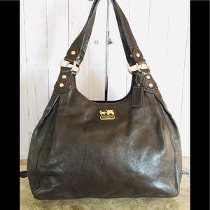 Maggie 14336 Madison Hobo Purse Handbag Brown